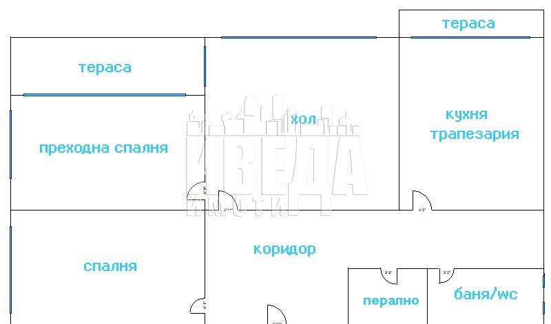Четиристаен апартамент ТОП център гр. Варна