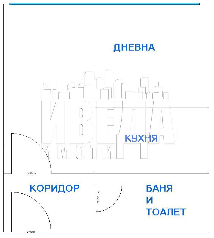 ЕДНОСТАЕН ЛУКСОЗЕН АПАРТАМЕНТ В КВАРТАЛ ЛЕВСКИ